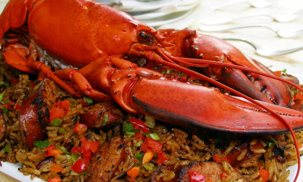 "Lobster Jambalaya: BIG and EASY ""Mardi Gras by the Sea"" dish!"